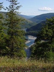 [Clearwater River from Whitehorse Bluffs]